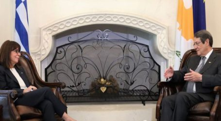 «Η επίσκεψη μου, ενδεικτική της κορυφαίας θέσης που καταλαμβάνει το Κυπριακό στην εθνική μας πολιτική»