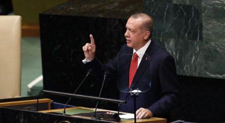 Ρεσιτάλ Ερντογάν με μαθήματα «δικαιοσύνης» και «δημοκρατίας» στον ΟΗΕ