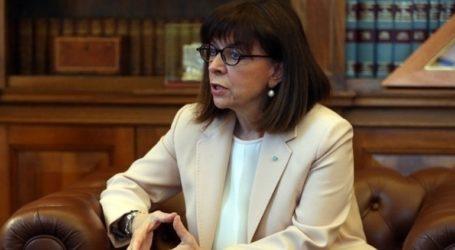 Στο Κυπριακό Μουσείο ξεναγήθηκε η Πρόεδρος της Ελληνικής Δημοκρατίας Κατερίνα Σακελλαροπούλου