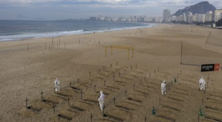 831 θάνατοι το τελευταίο 24ωρο στη Βραζιλία