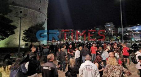 Μεταμεσονύχτια διαμαρτυρία εστιατόρων στο Λευκό Πύργο
