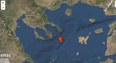 Χαλκιδική: Συνεχίζεται η σεισμική ακολουθία