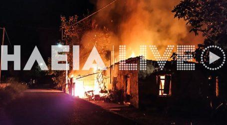 Πύργος: Πυρκαγιά κατέστρεψε ολοσχερώς κατοικία