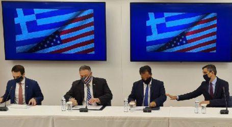 Η Αμερική στηρίζει τις προσπάθειες της Ελλάδας για ειρήνη στην Ανατ. Μεσόγειο