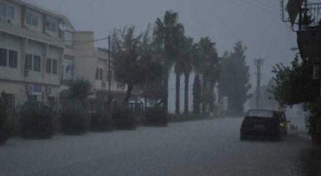 Προβλήματα σε Μεσολόγγι και Ναύπακτο από τις ισχυρές βροχοπτώσεις