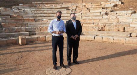 Στο αρχαίο θέατρο Απτέρας ο Πομπέο