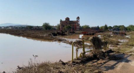 Σε κατάσταση έκτακτης ανάγκης κηρύχθηκε ο δήμος Φαρσάλων μετά τις καταστροφές από τον «Ιανό»