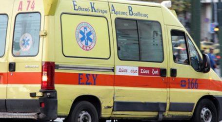 Βόλος: Τροχαίο με τραυματία στη Νέα Ιωνία