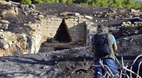 Οι μεταπτυχιακοί φοιτητές του Πανεπιστημίου Θεσσαλίας επικρίνουν τη Μενδώνη για τη φωτιά στις Μυκήνες