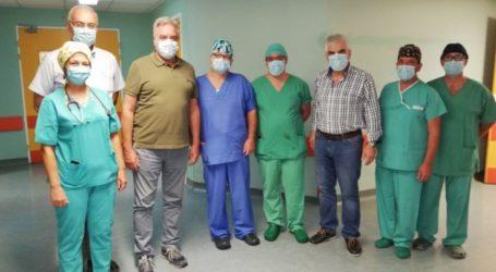 Η πρώτη καρδιοχειρουργική επέμβαση στο Πανεπιστημιακό Νοσοκομείο Λάρισας στη νέα εποχή χωρίς Τσιλιμίγκα