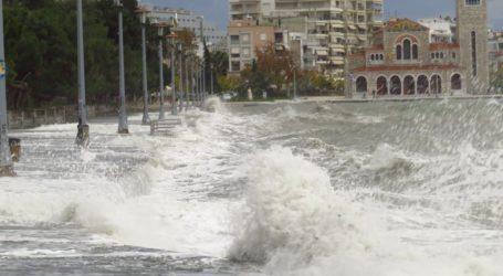 Νέα προειδοποίηση: Έως 8 μποφόρ οι άνεμοι στη Θεσσαλία