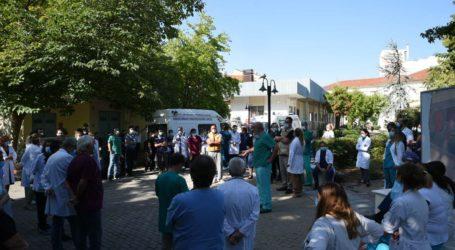 Ανοιχτή σύσκεψη γιατρών πραγματοποιήθηκε το πρωί στο ΓΝΛ (φωτο)