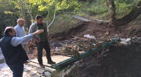 Επισκέψεις Χρ. Τριαντόπουλου για τον συντονισμό της οικονομικής στήριξης στους πλημμυροπαθείς