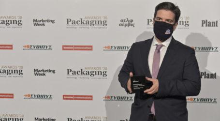 Βραβείο στην ΟΛΥΜΠΟΣ για τη συσκευασία στο στραγγιστό γιαούρτι 1Kg