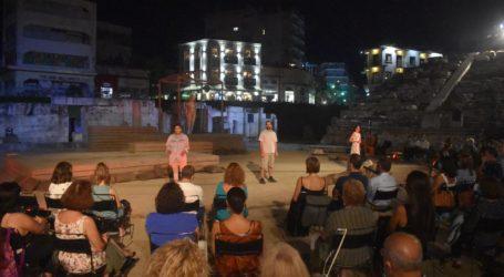«Τα αγάλματα περιμένουν»: Το ταξίδι του «Θεσσαλικού» έφτασε στο Α' Αρχαίο Θέατρο Λάρισας μαγεύοντας το κοινό (φωτο)