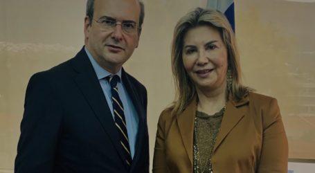 Κ. Χατζηδάκης σε Ζέττα Μακρή: Λογικό και δίκαιο το αίτημα της Ένωσης Πλοιοκτητών Τουριστικών σκαφών
