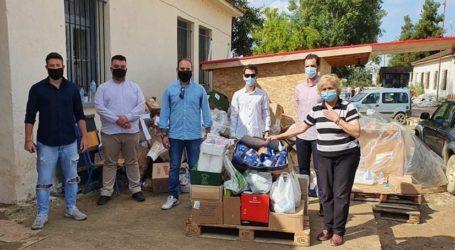 Στην Καρδίτσα για βοήθεια μέλη της ΟΝΝΕΔ Μαγνησίας