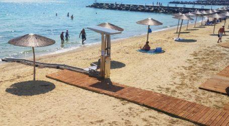 Βόλος: Τέσσερα νέα συστήματα αυτόνομης υποστήριξης της πρόσβασης ΑΜΕΑ στις ακτές