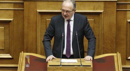 Θ. Λιούπης: Ζητά κάλυψη των κενών οργανικών θέσεων με παράταση ισχύος του πίνακα επιτυχόντων στο Νομικό Συμβούλιο του Κράτους