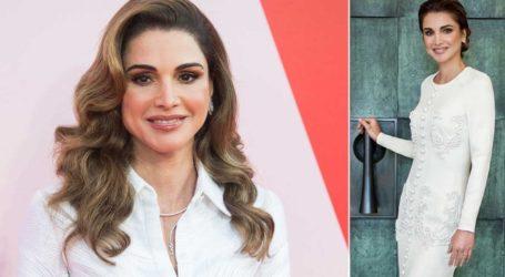 Η βασίλισσα Ράνια της Ιορδανίας εντυπωσιάζει στο πορτρέτο για τα 50α γενέθλιά της