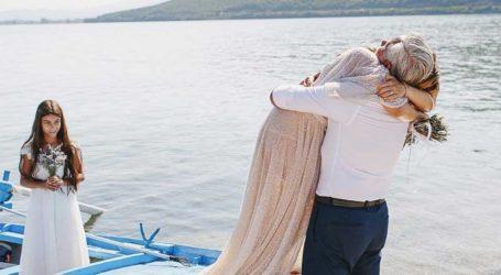 Επέτειος γάμου για την Anita Brand και τον Χάρη Χριστόπουλο