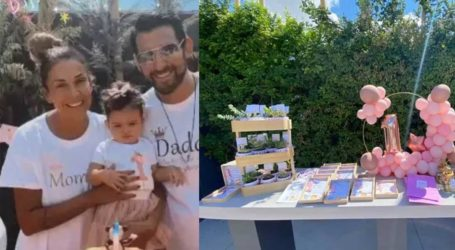 Ελένη Χατζίδου- Ετεοκλής Παύλου: Το πάρτι-υπερπαραγωγή για τα 1α γενέθλια της κόρης τους