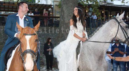 Πλούσιο φωτογραφικό υλικό από τον παραδοσιακό γάμο της Ανθής Βούλγαρη στο Πήλιο