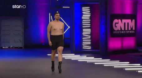 Κωνσταντίνος Μελισσάς: Το plus size model που περπάτησε με τακουνιά μπροστά στους κριτές του GNTM