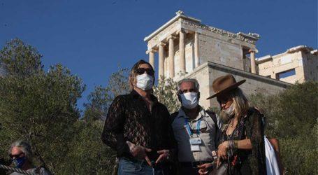 Ο Mickey Rourke επισκέφτηκε την Ακρόπολη- Οι πρώτες του δηλώσεις