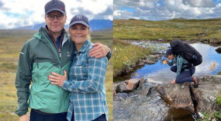 Η πριγκίπισσα Βικτώρια της Σουηδίας και ο σύζυγός της έκαναν 47 χιλιόμετρα με τα πόδια!