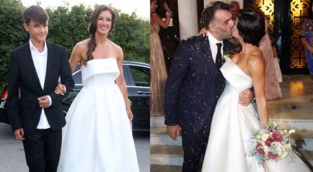 Μάρα Δαρμουσλή & Βασίλης Τσατσάκης: Το φωτογραφικό άλμπουμ του γάμου τους