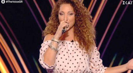 Η Ιωάννα Κουταλίδου από το Fame Story βρέθηκε στη σκηνή του The Voice!