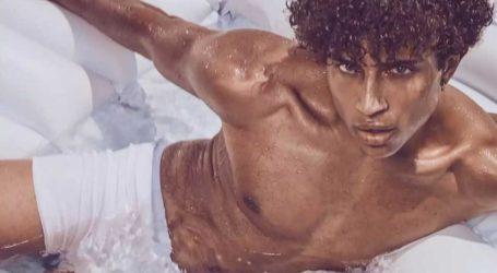 GNTM: Ο Ηρακλής Τσουζίνοβ ξετρέλανε τους κριτές με τις πόζες του στην πισίνα