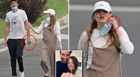 Η Emma Stone θα γίνει πρώτη φορά μαμά – Οι φωτογραφίες με φουσκωμένη κοιλίτσα