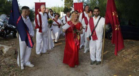 Εορτασμός της ισημερίας και«τιμή» στους Μαραθωνομάχους από πιστούς της «Ελληνικής Εθνικής Θρησκείας»