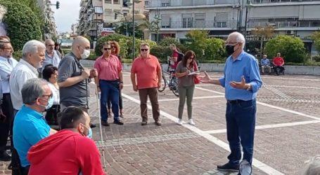 Περίπατοι με αμαξίδια ΑμεΑ το πρωί της Κυριακής στη Λάρισα – Καλογιάννης: Να αλλάξουμε μυαλά οι Λαρισαίοι (φωτο – βίντεο)