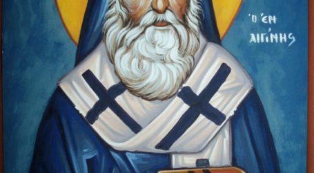 Εορτάζεται στη Νίκη η ανακομιδή των Ιερών λειψάνων του Αγίου Νεκταρίου
