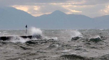 Για ανέμους έως και 7 μποφόρ προειδοποιεί το Κεντρικό Λιμεναρχείο Βόλου