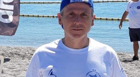 Στο πανελλήνιο πρωτάθλημα ανοιχτής θάλασσας βετεράνων ο Α. Κρύσιλας με τη Νίκη Βόλου