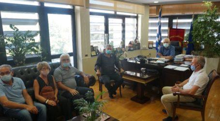Στο δημαρχείο αντιπροσωπεία του ΣΥΡΙΖΑ Λάρισας