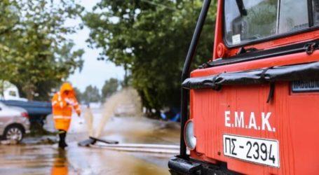 ΤΩΡΑ: Δύναμη της ΕΜΑΚ στον Αλμυρό – Βροχή οι κλήσεις για παγιδευμένους σε πλημμυρισμένες περιοχές