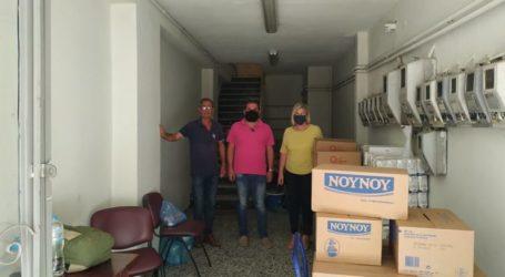 Δωρεά τροφίμων από το Ίδρυμα «Ωνάση» στο Κοινωνικό Παντοπωλείο του Δήμου Φαρσάλων