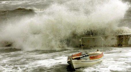 ΙΑΝΟΣ: Κύματα 7 μέτρων σε νησιά του Ιονίου