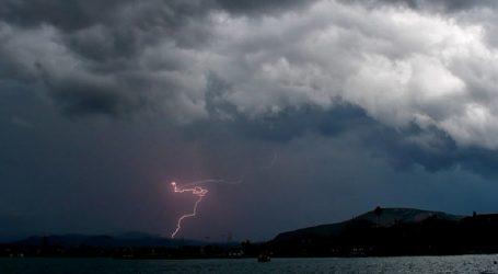 Για βροχές και καταιγίδες προειδοποιεί η Περιφέρεια Θεσσαλίας