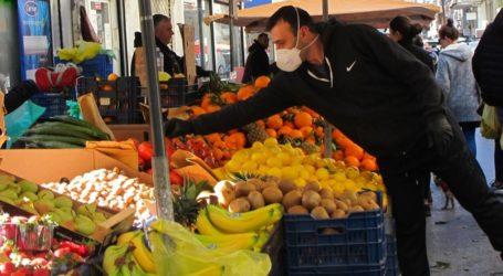 Βόλος: Πρόστιμα στη λαϊκή αγορά για μη χρήση μάσκας