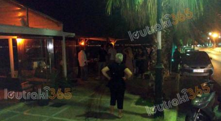 Έκανε live στο Facebook και παραλίγο να σαρώσει καφετέρια στο Λουτράκι: Έπεφταν στην θάλασσα οι πελάτες