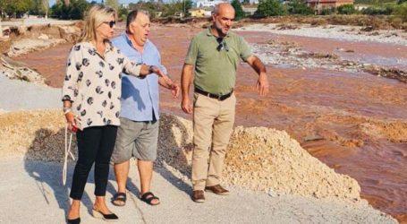Επίσκεψη Ζέττας στις πληγείσες περιοχές Αλμυρού και Ν. Αγχιάλου