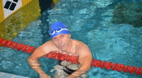 Δύο μετάλλια για τη Νίκη Βόλου με  τον Αντώνη Κρύσιλα στο πανελλήνιο πρωτάθλημα κολύμβησης Μasters