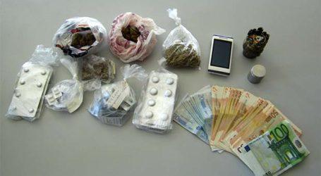 2 Συλλήψεις στη Λάρισα για παράβαση του νόμου περί ναρκωτικών