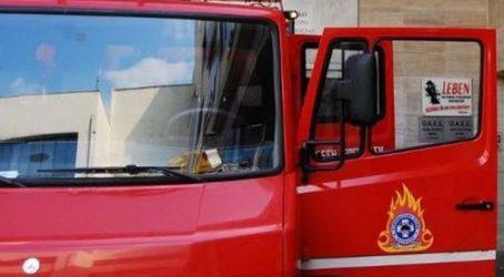 Φωτιά σε διαμέρισμα στη Λάρισα
